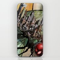 Dragonfly City iPhone & iPod Skin