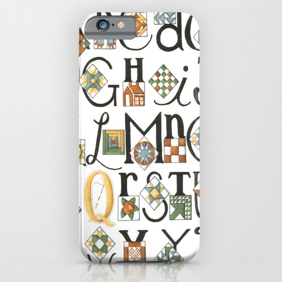 The ABC's of Quilting iPhone & iPod Case