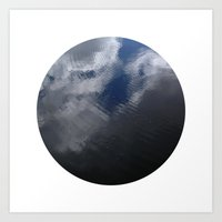 Planetary Bodies - Cloud Ripple Art Print