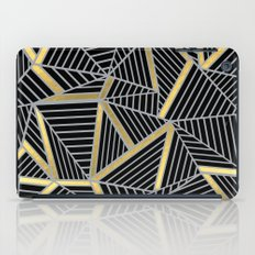 Ab 2 Silver and Gold iPad Case