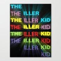 The Iller Kid Canvas Print