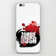 Zombie Rush - 2012 iPhone & iPod Skin