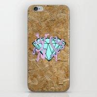 DIAMOND HANDS iPhone & iPod Skin