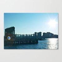 Long Island Sunset Canvas Print