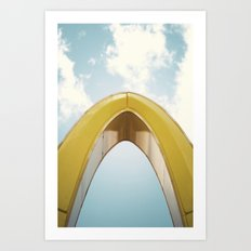 Golden Arch Art Print