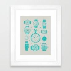Blue version Framed Art Print