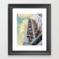 Paramount - Oakland, CA Framed Art Print