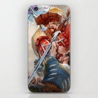 Landsknecht fight iPhone & iPod Skin
