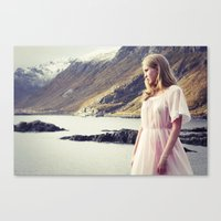 The Young Girl And The S… Canvas Print