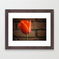 Perfect love Framed Art Print