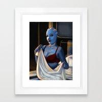 Mass Effect - Red Lingerie Framed Art Print