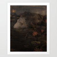 Waterborn Art Print
