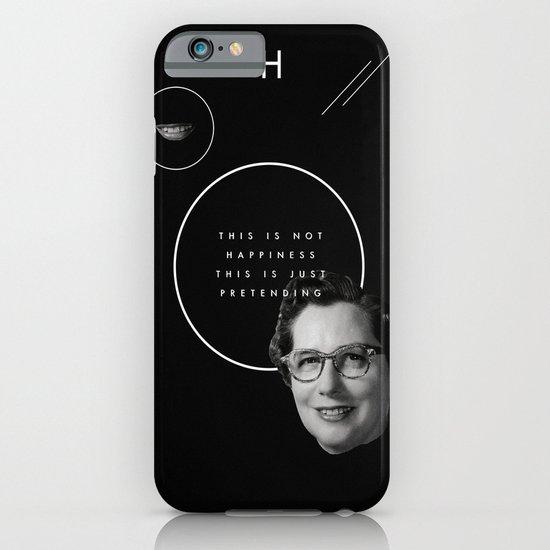 Fake smile sells everything. iPhone & iPod Case