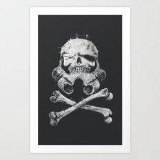 STORM PIRATE Art Print