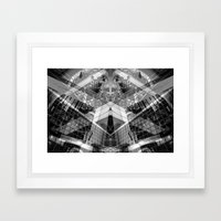 stair ascender Framed Art Print