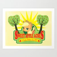 Sweet Apple Acres Art Print