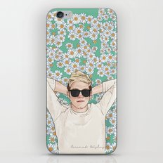Niall Daisies Field iPhone & iPod Skin
