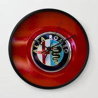 Alfa Romeo Wall Clock