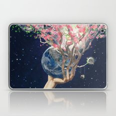 Love Makes The Earth Bloom Laptop & iPad Skin