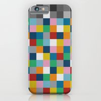 iPhone & iPod Case featuring Colour Block with Topper #2 by Project M