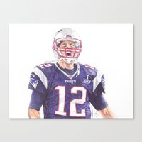 Tom Brady Ballpoint Pen … Canvas Print