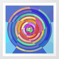 Visualize The Colors Art Print