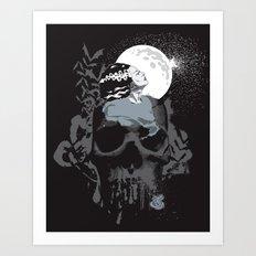 The Bride Art Print