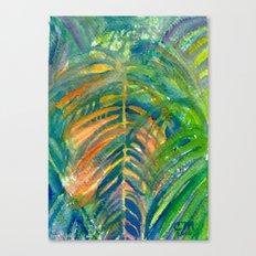 Sunburnt Palm Canvas Print