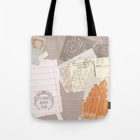 vintage postcards Tote Bag