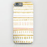 iPhone & iPod Case featuring GOLD TRIBE by Rebecca Allen