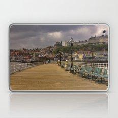 Walkway Along the Harbour Laptop & iPad Skin