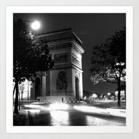 Triumph - Paris Art Print