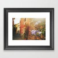 Monterosso al Mare Framed Art Print