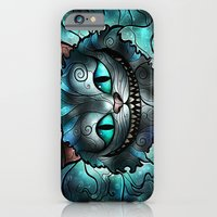 iPhone & iPod Case featuring Were all mad here by Mandie Manzano