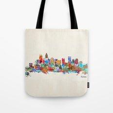 Charlotte North Carolina… Tote Bag