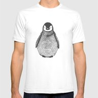 Penguin Mens Fitted Tee White SMALL