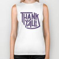 Thank Y'all! Biker Tank