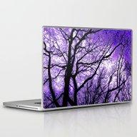 The Trees Know (purple) Laptop & iPad Skin
