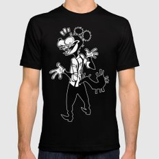 my teeth are rotting in my head Mens Fitted Tee Black SMALL