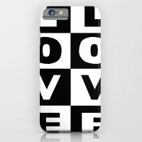 Love Black iPhone 6 Slim Case