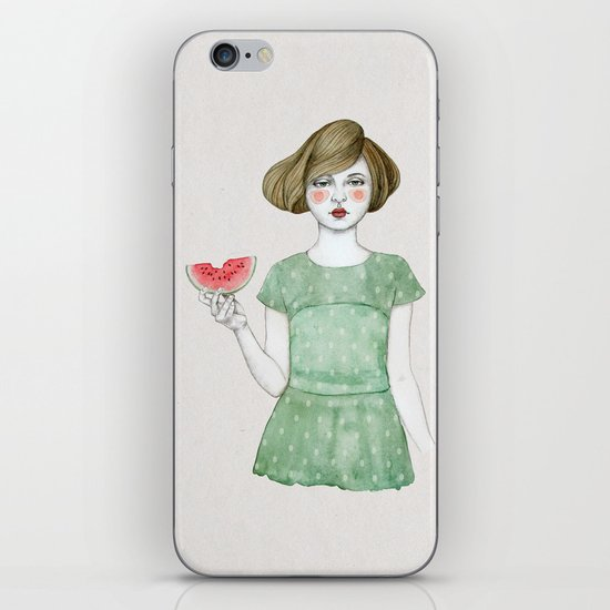 Genevieve iPhone & iPod Skin