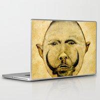 tribal Laptop & iPad Skins featuring tribal  by Ganech joe