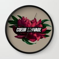 Sauvage Wall Clock