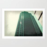 Greeny  Art Print
