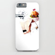 Burgery is a Sin Slim Case iPhone 6s