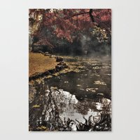 Lights and colors Canvas Print