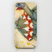 turtle iPhone & iPod Cases featuring Turtle by Darja Charapova