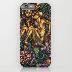 Mentalice and the Cheshire cat iPhone 6 Slim Case