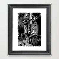 Upper East Side Framed Art Print