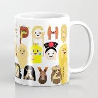 Princess Alphabet Mug